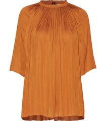 day disil blouses short-sleeved oranje day birger et mikkelsen