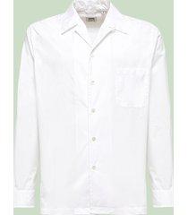 aspesi camicia in cotone bianco