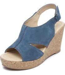 sandalia azul carducci