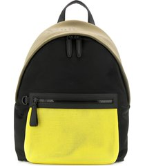 mulberry mesh panel backpack - black
