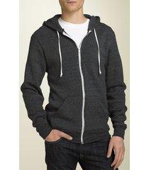 men's alternative 'rocky' trim fit hoodie, size x-large - black