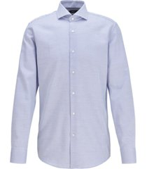 boss men's jason medium blue dress shirt