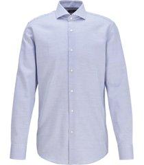 boss men's jason medium blue dress shirt