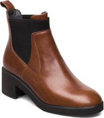 wonder shoes boots ankle boots ankle boot - heel brun camper