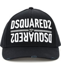 dsquared2 baseball cap with mirrored logo