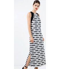 sukienka maxi z wycięciami