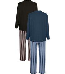 pyjamas g gregory blå::antracitgrå