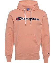 hooded sweatshirt hoodie trui roze champion