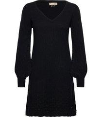 sim dress knälång klänning svart odd molly
