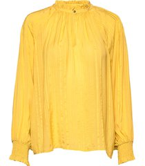bitt bl blouse lange mouwen geel part two