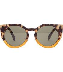 matt & nat mule sunglasses, leopard mix