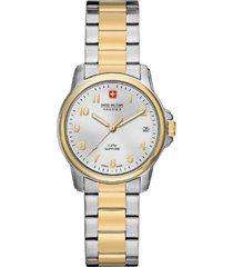 reloj casual multicolor swiss military