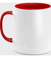 kolorowy kubek (bez nadruku, gładki) - czerwony