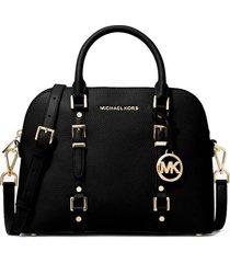 michael kors black bedford legacy handbag