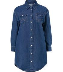 skjortklänning denim western dress