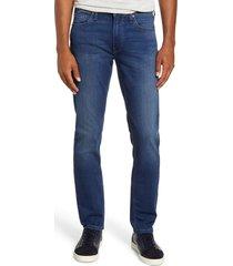 men's paige transcend - lennox slim fit jeans, size 28 - blue