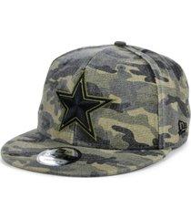 new era men's dallas cowboys worn camo 9fifty cap