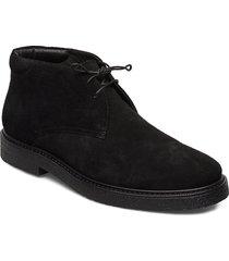 gary desert boots snörskor svart vagabond