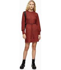 burgundy cut and sew mini dress - burgundy