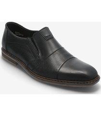 b1765-00 loafers låga skor svart rieker