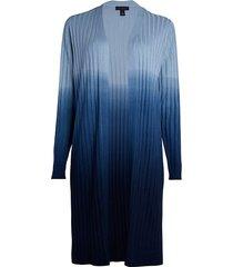 saks fifth avenue women's collection dip-dye silk blend cardigan - wheat khaki - size m