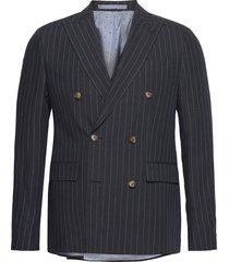 1838 - star db normal blazer colbert blauw sand