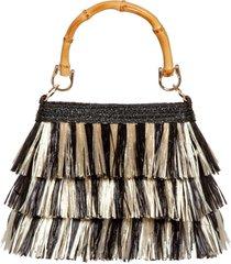 eric javits lil mambo handbag - black
