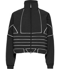 lrg logo tt outerwear sport jackets zwart adidas originals