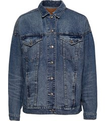 ae boyfriend denim jacket jeansjacka denimjacka blå american eagle