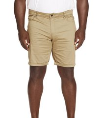 johnny bigg marshall stretch five-pocket shorts, size 50 in sand at nordstrom
