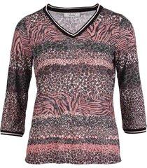 t-shirt devore roze