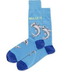 hot sox men's nailed it crew socks