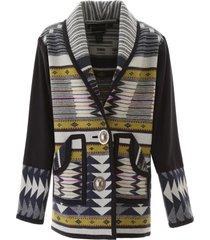 jessie western oversized concho coat