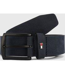cinturón azul navy tommy hilfiger
