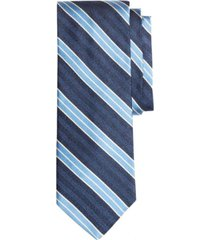 corbata herringbone stripe azul brooks brothers