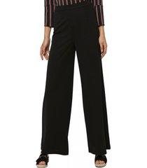 pantalon ancho negro gouache