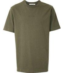 1017 alyx 9sm contrast print t-shirt - green