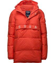 blenda anorak outerwear jackets anoraks rood svea
