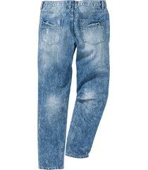 jeans regular fit tapered (blu) - rainbow