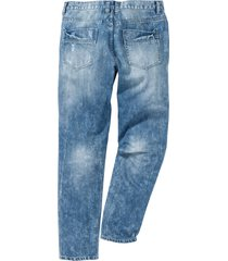 jeans regular fit tapered (blu) - rainbow