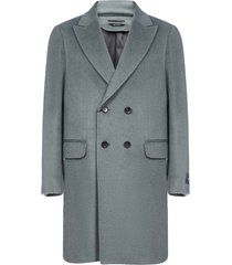 z zegna alpaca and wool double-breasted coat