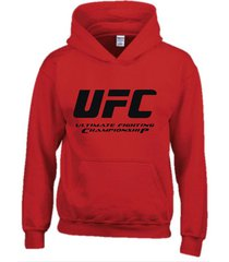 buzo estampado ufc fight night con capota saco  hoodies sport