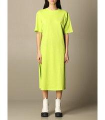 armani exchange dress armani exchange long t-shirt dress in cotton