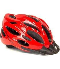 capacete de ciclismo absolute nero com sinalizador led
