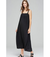 women's isabella oliver justine pleated maternity dress, size 5 - black