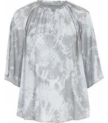 gail a-shape blouse skjorter 41617/7324 w. silver
