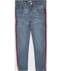 jean azul-rojo levis 720
