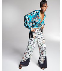 misa hylton for inc satin pants, created for macy's