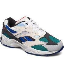 aztrek 96 låga sneakers multi/mönstrad reebok classics