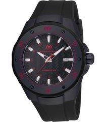 reloj technomarine tm-215088 negro silicona